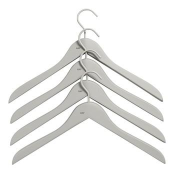 HAY - Soft Coat Kleiderbügel Set 4-teilig