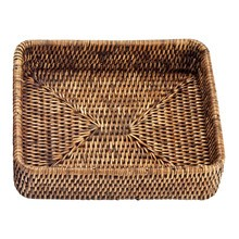 Decor Walther - Basket TAB 1 Rattan-Tablett