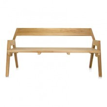 Jan Kurtz - Strong Teak Wood Garden Bench