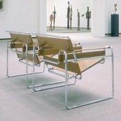 Knoll International: Hersteller - Knoll International - Wassily Marcel Breuer Sessel   Ausstellungsstück
