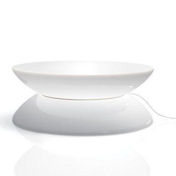 Moree Ltd. - Lounge Table Outdoor Leuchttisch - weiß/glänzend/Ø x H: 84 x 33cm/UV-Beständigkeit