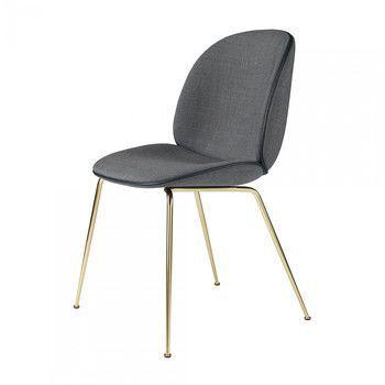 Gubi - Beetle Dining Chair Stuhl gepolstert  -