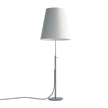 Anta - Para Neu Stehleuchte - Schirm weiß/Gestell aluminium/H: 160cm