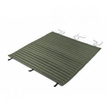 HAY - Palissade Steppkissen 107.5x104.5cm - olivgrün/wasserabweisend/für Palissade Dining Bank