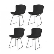 Knoll International - Bertoia Plastic Side Chair - Lot de 4 chaises