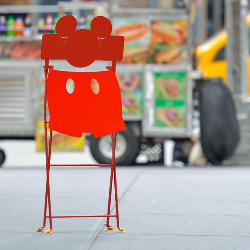 Mickey Mouse© Bistro Folding Chair