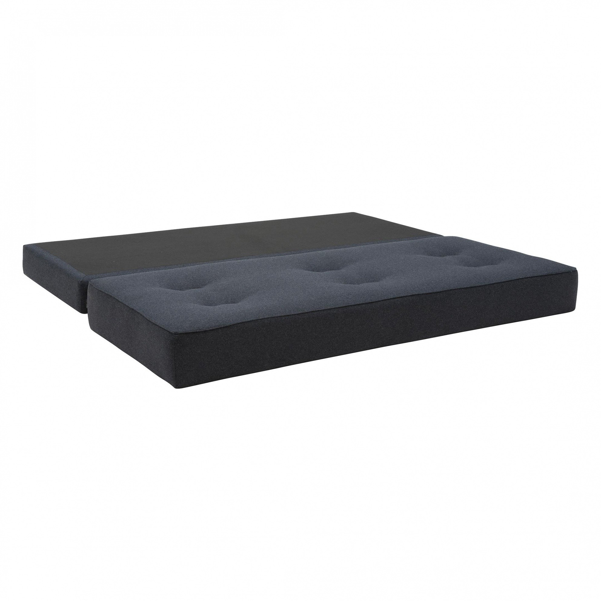 softline frame day bed with pu foam mattress ambientedirect