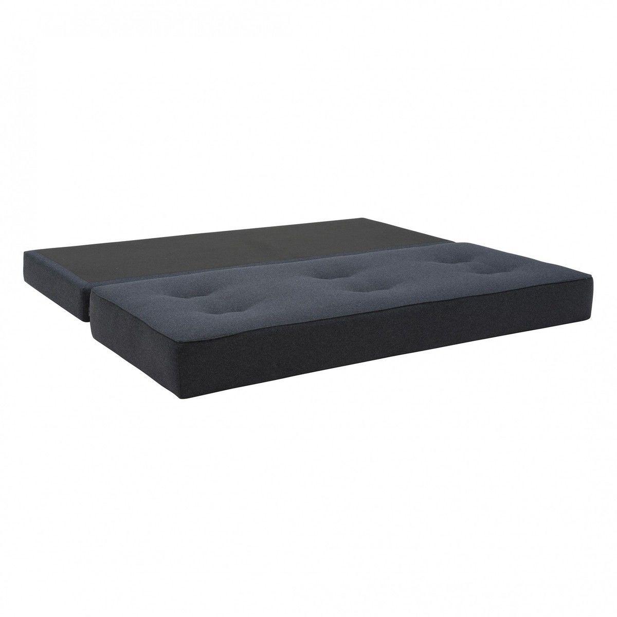 Frame canap lit avec matelas en mousse pu softline for Matelas canape lit