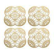 Driade - Italic Lace Petal Coaster Untersetzer 4tlg.