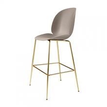 Gubi - Beetle Bar Chair Barhocker Messing 118cm