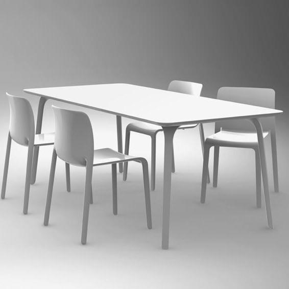 Magis Table First Outdoor Tisch rund | AmbienteDirect