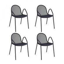 emu - Nova Gartenarmlehnstuhl 4er Set