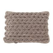 GAN - Trenzas Gan Spaces Kissen - taupe/60x36cm