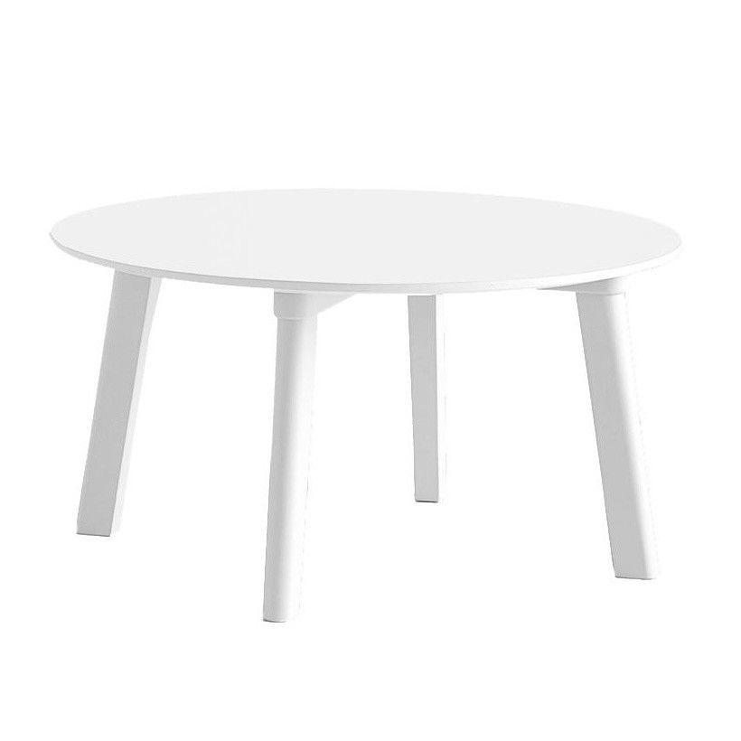 Copenhague Deux CPH 250 Coffee Table Ø75cm   Pearl White/laminate/frame  Pearl