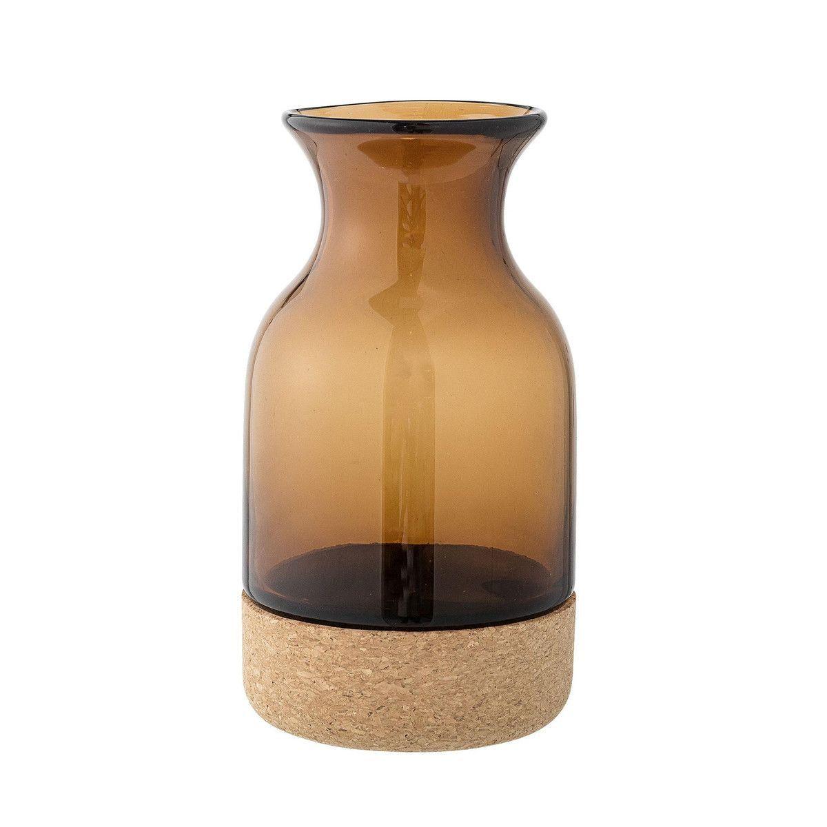 cork vase h 20cm bloomingville. Black Bedroom Furniture Sets. Home Design Ideas