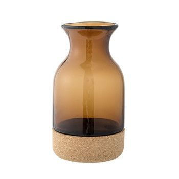 Bloomingville - Cork Vase braun 20cm -