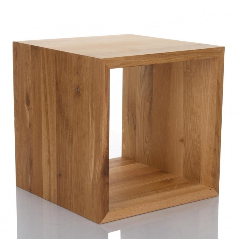Jan Kurtz Cubus Beistelltisch Wurfel Holz Ambientedirect