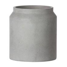 ferm LIVING - ferm LIVING Pot Concrete/Vessel Big