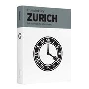 MeterMorphosen - Crumpled City Stadtplan - Zürich
