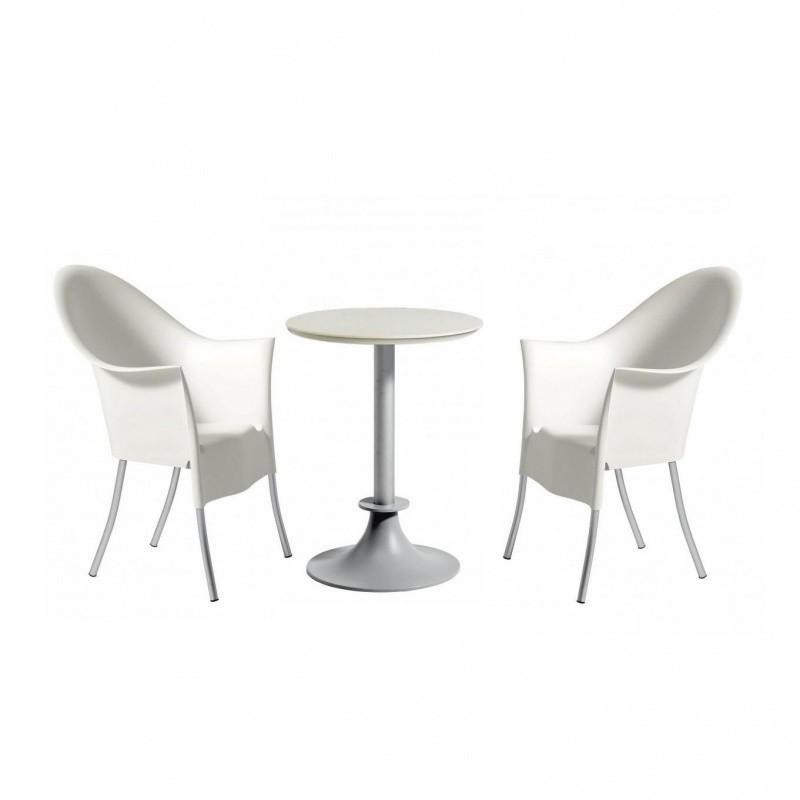 Driade Lord Yi Yo Set Aus 1 Tisch 2 Stühlen Ambientedirect