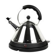 Alessi - Electric Kettle - black/stainless steel