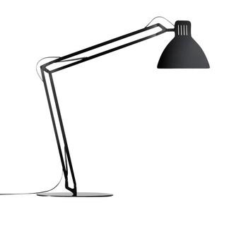 Ingo Maurer - Looksoflat Tischleuchte - schwarz/3000K warmweiß/Aluminium/950 lm