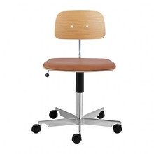 Engelbrechts - Kevi 2533 Office Chair with Leather Seat