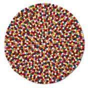 HAY - Pinocchio Teppich - multicolour/Ø300cm