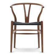 Carl Hansen - CH24 Wishbone Chair Gestell Walnuss