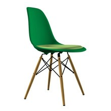 Vitra - Eames Plastic Side Chair DSW gepolstert