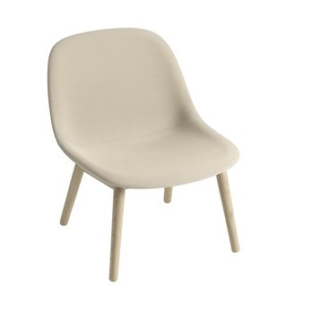 muuto fiber lounge chair upholstered wood base ambientedirect rh ambientedirect com