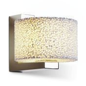 Serien - Reef LED Wall Lamp - aluminium/polished/2700K