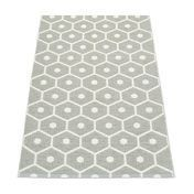 pappelina - Honey Plastic Rug 70x100cm - warm grey/vanilla