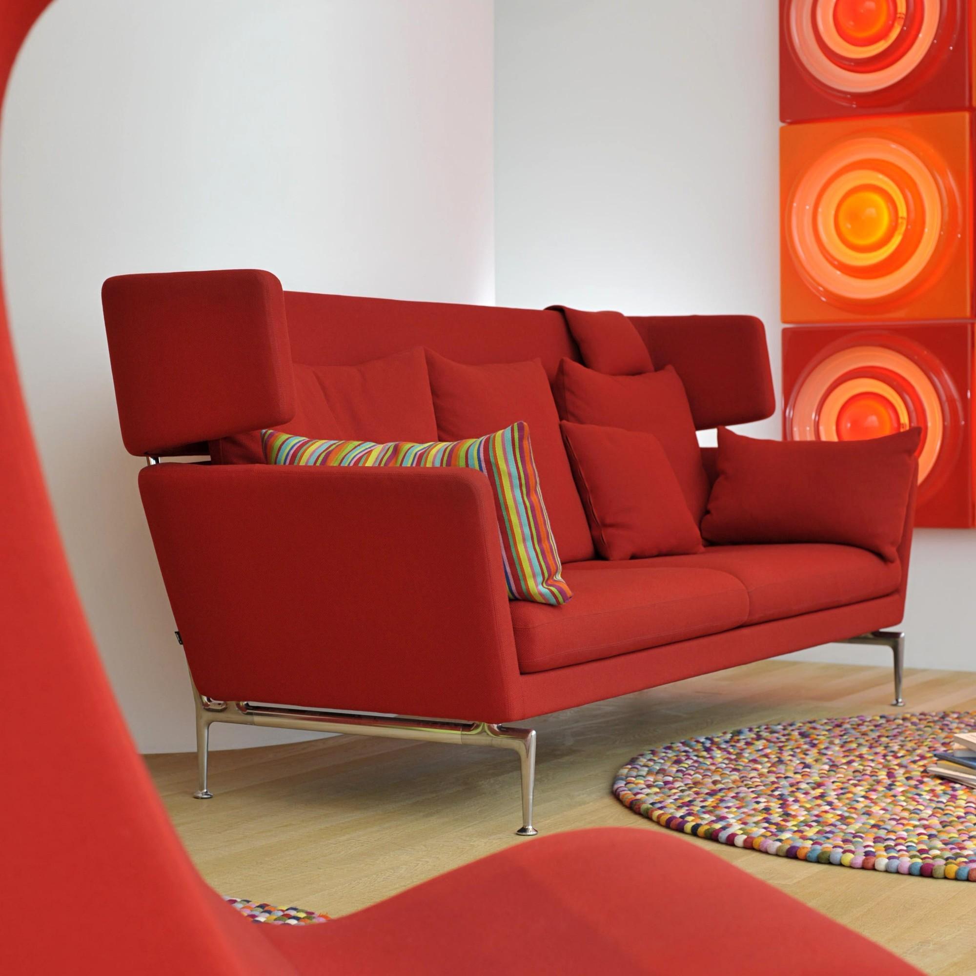 vitra suita citterio 2 sitzer sofa ambientedirect. Black Bedroom Furniture Sets. Home Design Ideas