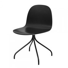 Gubi - Gubi 2D Dining Chair - Chaise pivotante