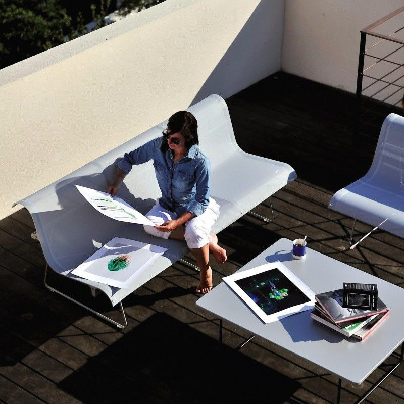 Gartenmobel Polyrattan Dedon : Ellipse Beistelltisch  Fermob  AmbienteDirectcom