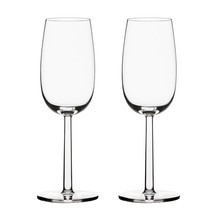 iittala - Set de 2 verres à vin mousseux Raami