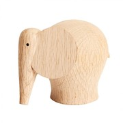 Woud - Nunu Elephant Wood Figure S