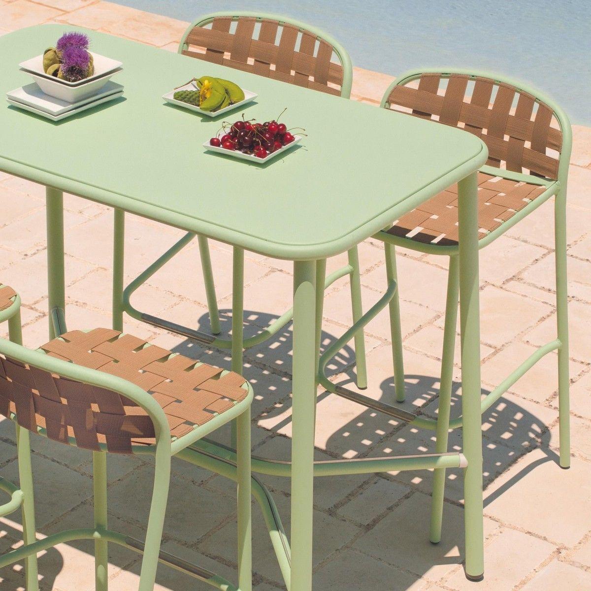 Table de jardin emu salon de jardin shine canap table basse chauffeuses emu with table de - Table jardin emu rennes ...