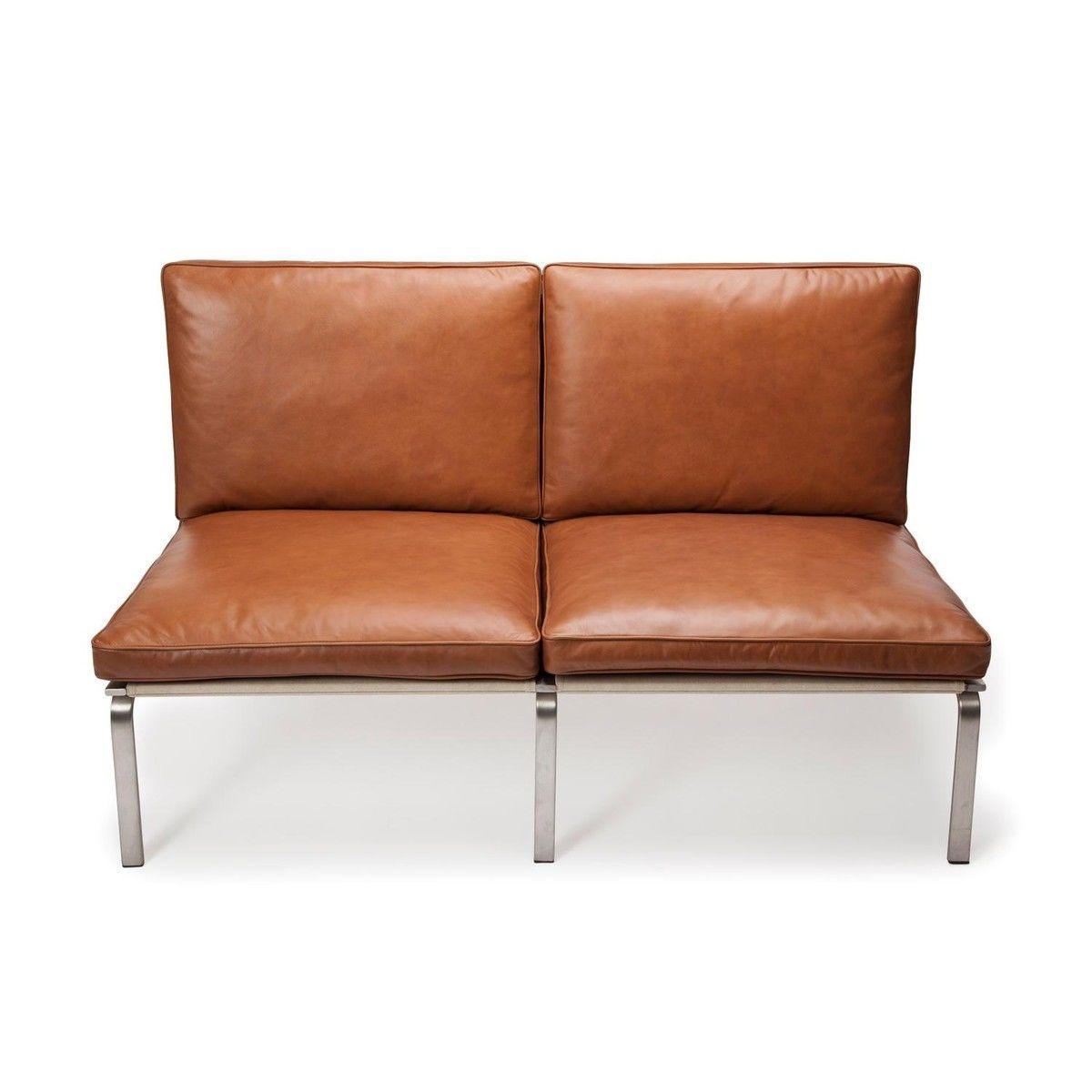 man lounge 2 sitzer ledersofa norr 11. Black Bedroom Furniture Sets. Home Design Ideas