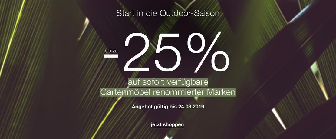 EarlyBirdOutdoor Sale 25 Presenter DE