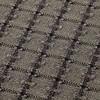 GAN - Garden Layers Checks Teppich 90x200cm - grün/Handwebstuhl