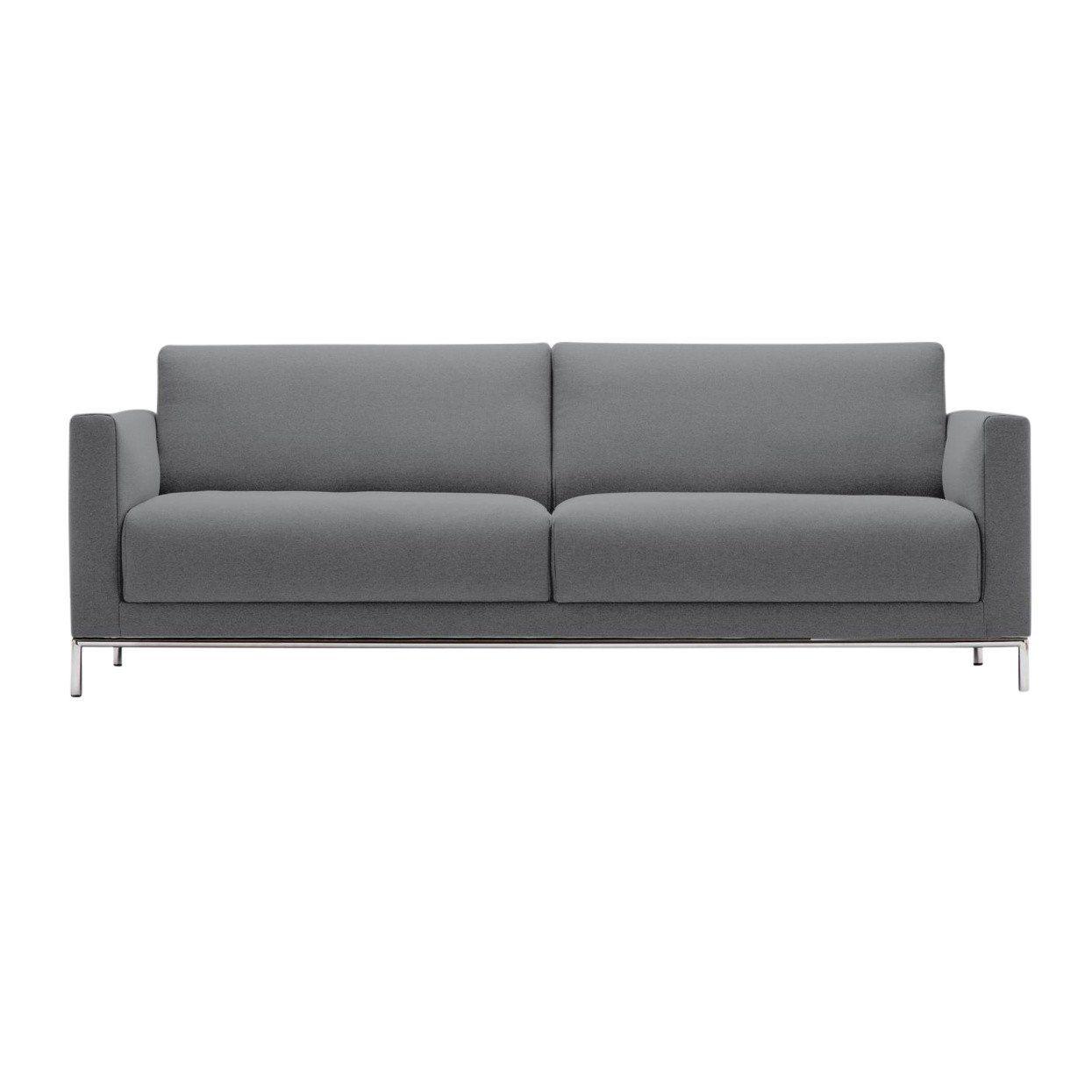 freistil 141 canap 3 places pi tem chrome freistil rolf benz. Black Bedroom Furniture Sets. Home Design Ideas