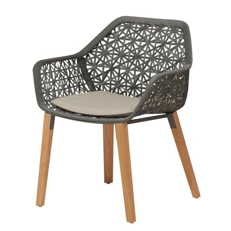 Maia - Chaise de jardin piètement en bois | Kettal ...