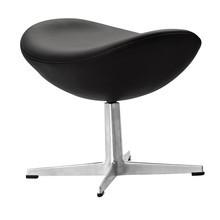 Fritz Hansen - Egg Chair/ Das Ei Fußhocker Leder