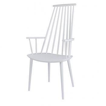 HAY - J110 Armlehnstuhl - weiß/lackiert