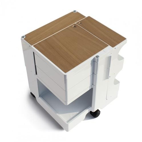 B-Line - Boby Deckplatte - eiche/bestehend aus 3 Einzelteilen:/26.6x29.9cm/10.8x29.1cm/39.4x0.99cm
