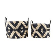 House Doctor - Graphic Basket Set of 2