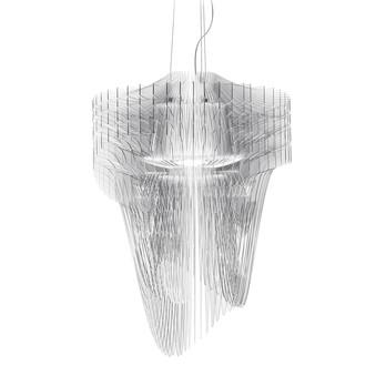 Slamp - Aria Transparent Pendelleuchte Ø60cm - transparent/2700K/5000l/H 90cm