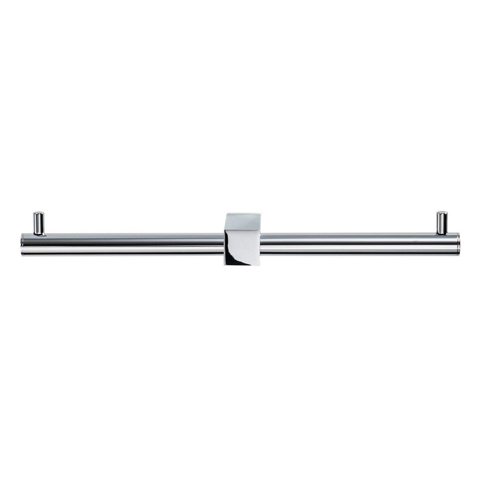 Decor Walther Bloque BQ TPH2 Toilet Paper Holder Double | AmbienteDirect